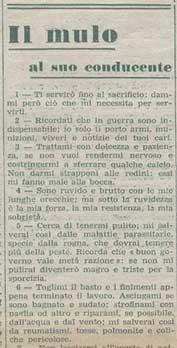 """Riproduzione di una parte della """"preghiera"""" che compare su L ALPINO del 1°  agosto 1941. 9eb0ff31d8fb"""